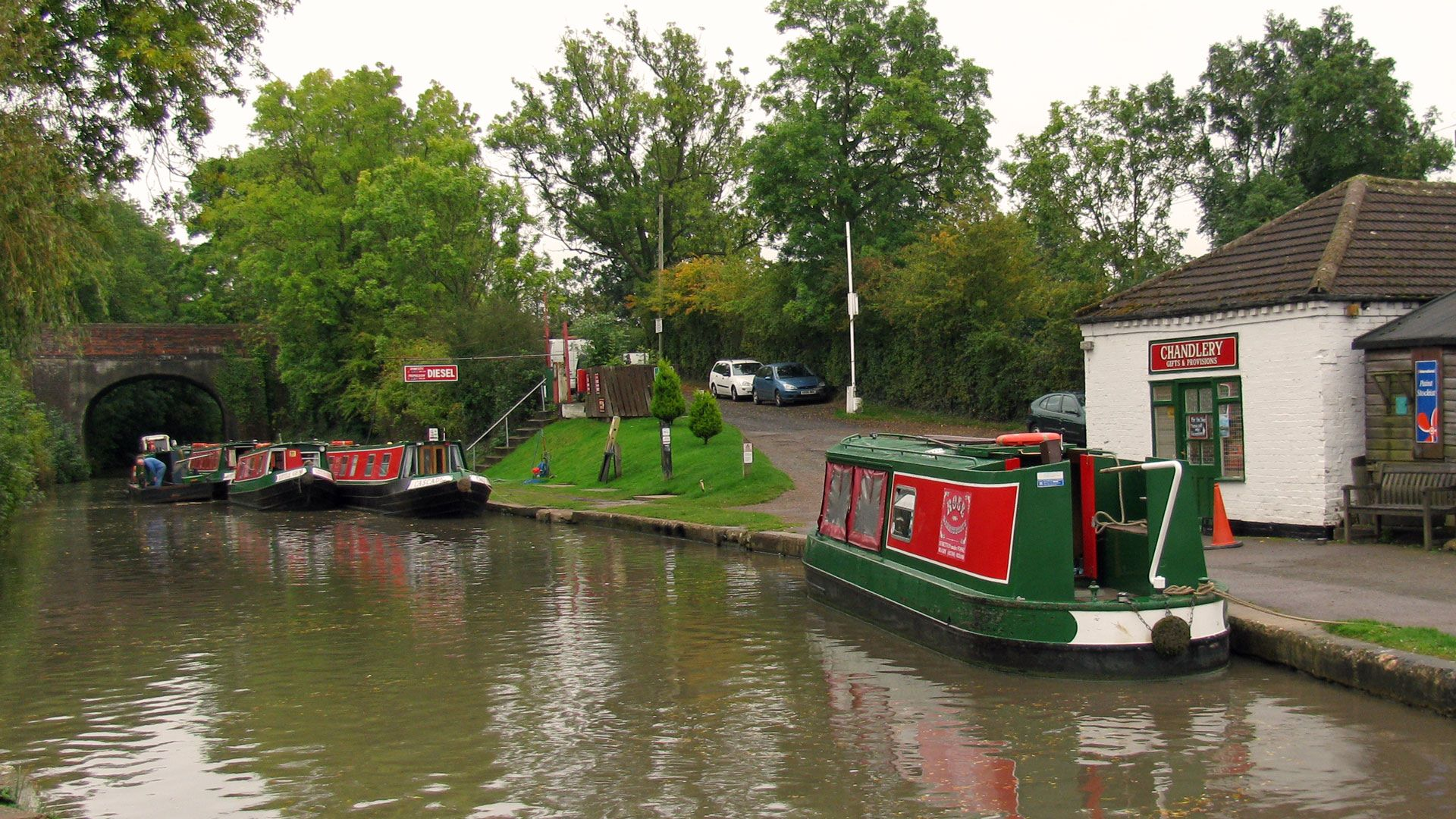 Rose Narrowboats base on the Oxford Canal