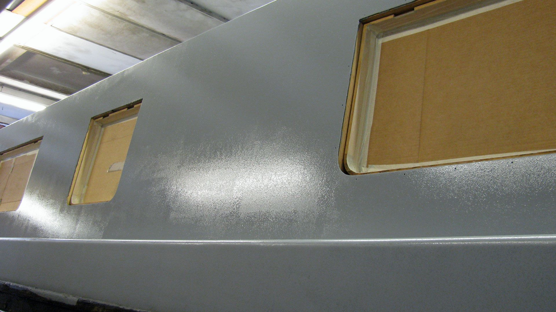 Smooth sides with primer