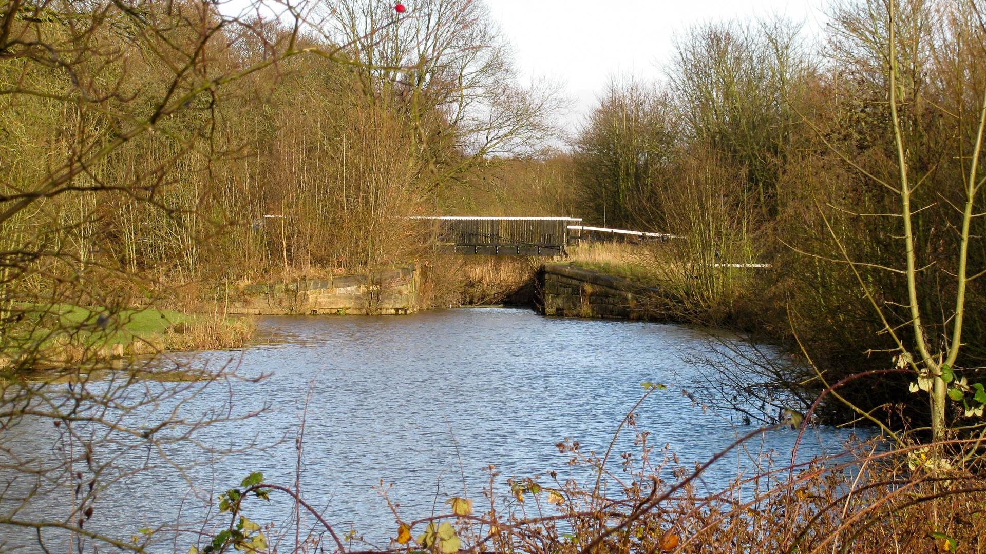 Bewsey Lock, awaiting restoration