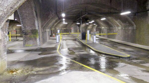 Under Manchester Central Station