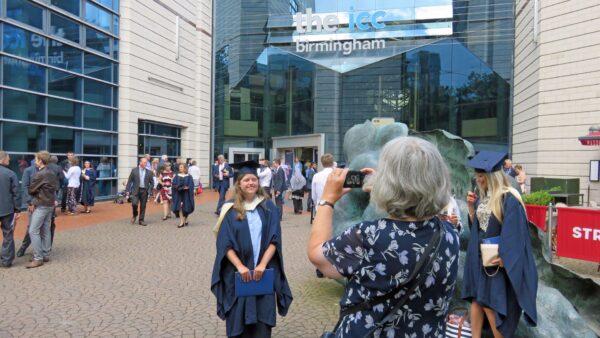 Mum, capturing the moment afterwards.