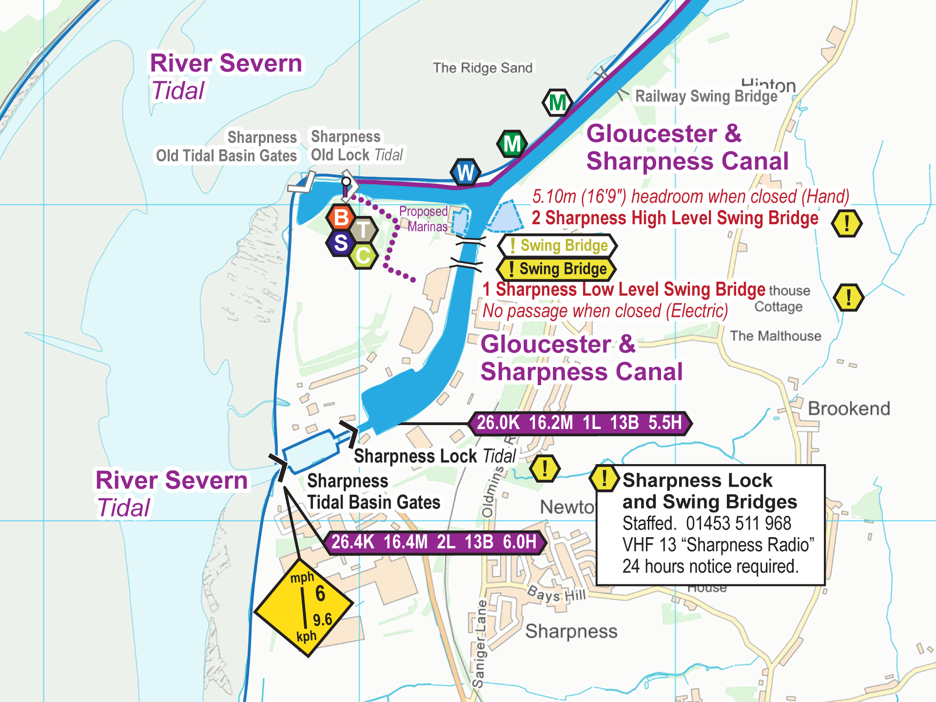 Map Of Uk Gloucester.River Severn And Gloucester Sharpness Canal Maps Waterway Routes